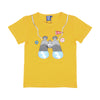 Binocular T-Shirt For Boys - Yellow (BTS-043)