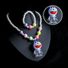 Doraemon Pearl Lighting Necklace - White (12532)