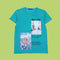 Next Level Printed T-Shirt For Boys - Green (BM5-2037)