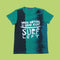 Surf Left Printed T-Shirt For Boys - Green (BM5-2049)