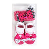 Baby Lucky Booties Gift Set For Baby Girl - Pink (BOT-0034)