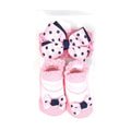 Baby Lucky Booties Gift Set For Baby Girl - Pink (BOT-0034-C)
