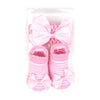 Baby Lucky Booties Gift Set For Baby Girl - Pink (BOT-0034-D)