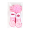 Baby Lucky Booties Gift Set For Baby Girl - Pink (BOT-0034-B)