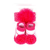 Baby Lucky Booties Gift Set For Baby Girl - Fuchsia (BOT-0034-A)
