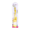 Smart Baby Rotary Feeding Bottle Brush - Yellow (6053)