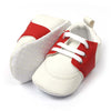 Fancy Stylish Booties For Boys - Red/White (BB-18)