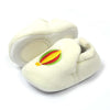 Fancy Stylish Fur Booties For Girls - White (BB-35)