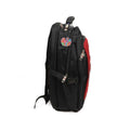 Combination Lock School Bag - Red/Black (007)