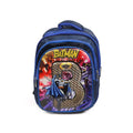 Batman School Bag For Kids - Blue (1603)