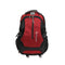 Combination Lock School Bag - Red (012)