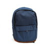 Simple Design School Bag - Dark Blue (00012)