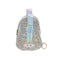 Star Glitter Cross Body Backpack - Silver (001)