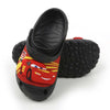 95 Cars lightning Slippers For Boys - Black (5553)