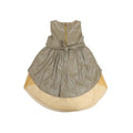 Fancy Flower Frock For Girls - Golden (FS-05)
