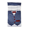 Waist Coat Style Baby Carry Cotton Nest - Blue (6885)