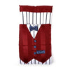 Waist Coat Style Baby Carry Cotton Nest - Red (6885)