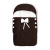 Baby Carry Velvet Nest - Dark Brown (12612)