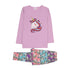 Unicorn Printed 2 PCs Suit For Girls - (95-160)