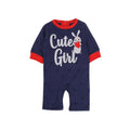 Cute Girl Romper For Girls - Blue (1636)
