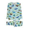 Dinosaurs Printed 2 PCs Suit For Boys - (95-160-1)