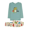 Super Dino Printed 2 PCs Suit For Boys - (95-160)