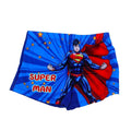 Super Man Swimming Short For Boys - Blue (A120-8-05)