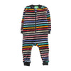 Lining Fleece Romper For Infants - Multi (8819)