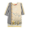 We Are Powerful Printed Kurti For Girls - Yellow (GK-03)