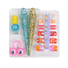 Nail Art Set Cosmetic Set For Kids - Yellow (1506)