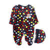 Bear Car Romper For Infants - Dark Blue (2647)