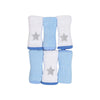 Carter's Stars Face Towel For Baby 6 PCs (11401)