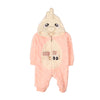Super Cool Hooded Romper For Infants - Pink (2674)