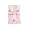 Carter's Rabbit Face Towel For Baby 6 PCs (11401)