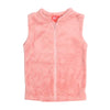 Sleeveless Fleece Jacket For Girls - Pink (8820)