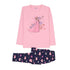 Frozen Star 2 Pcs Suit For Girls - Pink (95-160)