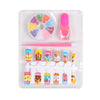 Decorate Nail Art Set For Kids - Blue (1504)