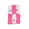 Carter's Butterfly Face Towel For Baby 6 PCs (11401)