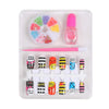 Decorate Nail Art Set For Kids - Green (1504)