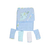 Carter's Fish Hooded Bath & Face Towel 5 Pcs (6266)