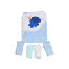 Carter's Rhino Hooded Bath & Face Towel 5 Pcs (6266)