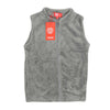 Sleeveless Fleece Jacket For Girls - Grey (8820)