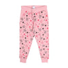 Stars Printed Casual Pajama For Girls - Pink (GP-02)