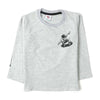 Keep On Moving Sweat Shirt For Boys - Grey (3756)