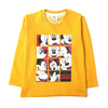 Mickey Mouse Sweat Shirt For Boys - Yellow (3766)