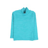 Winter Turtle Neck T-Shirt For Boys - Sea Green (01)