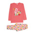 Flamingo Flowers Printed 2 Pcs Suit For Girls - (95-160)