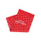Dotted Color Baby Rubber Sheet - Red (1396)