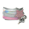 Star Glitter Clutch Bag - Pink (1346)