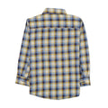 Casual Check Shirt For Boys - Yellow/Blue (1333)